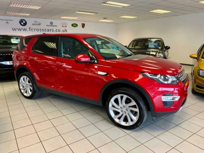 LAND ROVER DISCOVERY SPORT TD4 HSE LUXURY - 4143 - 8